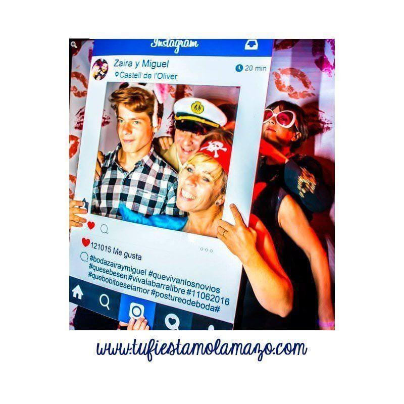 el mejor photocall instagram