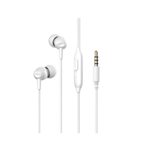 Auricular con Cable y Manos Libres E48P color blanco