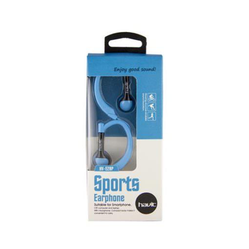 Auricular de Deporte con MicrofonoHV-E28P azul