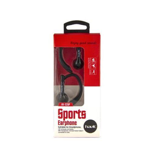Auricular de Deporte con MicrofonoHV-E28P negro