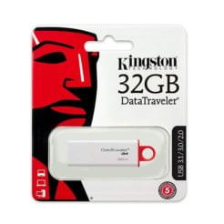 kingston rojo 32gb caja